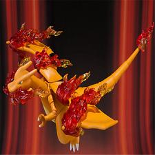 """SHF Pokemon Monster 6"""" Charizard Flame Skill Scene Kids Action Figure Toys"""