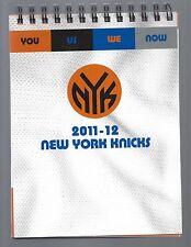 2011-12 NBA NY KNICKS FULL UNUSED COMPLETE SEASON 2 TICKETS IN BOOK - JEREMY LIN