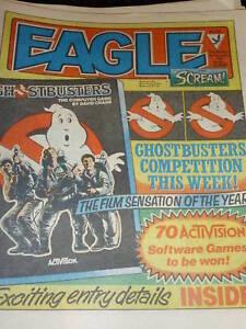 EAGLE & SCREAM Comic - No 142 - Date 08/12/1984 - UK Paper Comic