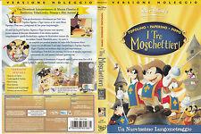 I tre moschettieri. Topolino, Paperino, Pippo (2004) DVD - EX NOLEGGIO