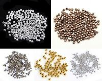 100 Pcs Top Quality Copper Spacer Beads Jewelry Making Findings DIY 3mm