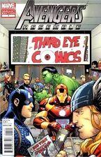 Avengers Assemble 1 Rare Variant 3rd Third Eye Comics Store Iton Man Thor Hulk