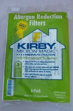 6 X KIRBY GENUINE MICRON MAGIC SENTRIA G10 E HEPA 204808 SC2508 Vacuum Bags