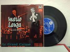 DISQUE 33T/25cm - MARIO LANZA et LE RCA VICTOR ORCHESTRA - LE GRAND CARUSO -