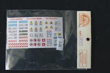 Cartelli adesivi vari (H0)
