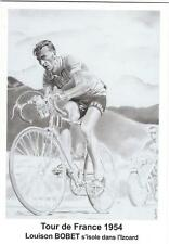 cyclisme, carte postale BOBET Tour de France 1954, Izoard