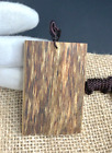 Natural Agarwood Wooden Pendant necklace