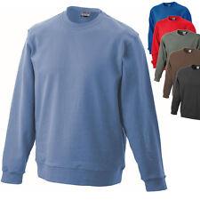 James & Nicholson Herren Sweatshirt Pullover Pulli Jacke Shirt Gr. S - 3XL