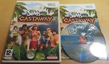 THE SIMS 2 CASTAWAY for NINTENDO Wii & Wii U COMPLETE