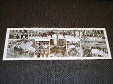 Stampa di 1 metro Roma nel 1937 Funerale Gugliemo Marconi Duce Benito Mussolini