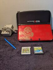 Nintendo 3DS XL System (New Super Mario Bros 2 Gold Edition) W/ 2 Games and case