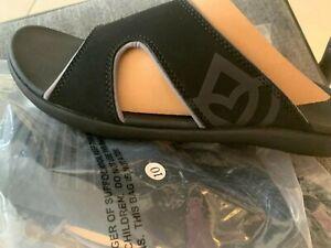 Spenco Kholo Men's Orthotic Slide Sandals Carbon / Pewter - size 10-13