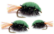 3x Foam Damsel Snails / Beetle - for Fly Fishing & Trout Fishing Flies - (FDS3)