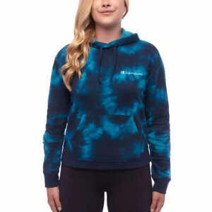 Elapsy Womens Tie Dye Printed Hoodies Sweatshirt Long Sleeve Casual Colorblock Pullover Hoodie