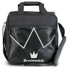Brunswick Blitz Single Tote 1 Ball Bowling Bag Black
