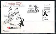 ESPAÑA SOBRE MATASELLOS 1º DÍA 2004 11 MARZO 2004 VICTIMAS TERRORISMO Nº 4073
