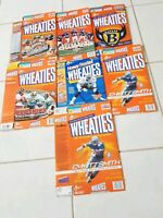 Vintage General Mills Cereal Box Lot of 7 Wheaties NFL