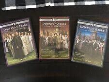 Downton Abbey Season 1-3 DVD Set Lot Original UK Editions