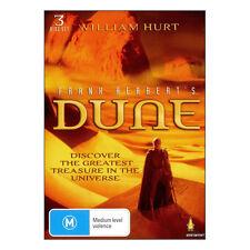 Frank Herbert's Dune DVD Brand New 3 Disc Set Region 4 Aust. - William Hurt