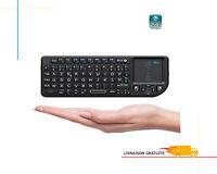Clavier Sans Fil Azerty Mini 2.4GHz Air Souris Paves Tactiles Android TV Box PC
