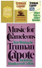 Truman Capote Treasure Trove 4 Books From The Late Great Author