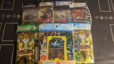 Pokemon Japanese lot of 6 blister packs - 24 booster packs BW, Plasma, XY promo