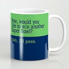 Win the Super Bowl? Nah, Funny Hilarious NFL Seattle Seahawks Coffee Mugs