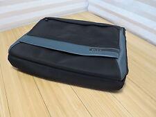Belkin Laptop Messenger Bag Gray Green Black No Shoulder Strap