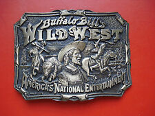 e17369ed819d Buffalo Bill s Far West Américain National Divertissement Laiton Boucle  Ceinture