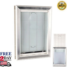 Extreme Weather Pet Door Dog Doors Exterior Entry Large Dogs Heavy Duty Large