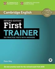 First Trainer Six Practice Tests with Answers with Audio CD  9781107470187