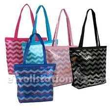 0ddc071752 Girls Kids Youth Sequin Chevron Wave Shoulder Dance Gymnastics Cheer Tote  Bag