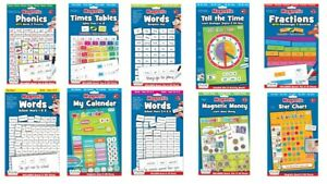 Magnetic Phonics Words Fractions Time Money Star Charts Calender Fiesta Crafts