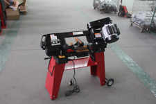 HORIZONTAL AND VERTICAL METAL CUTTING BAND SAW WITH BASE 350W UK STORE D Pro T