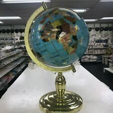 ** GLOBAL WORLD MAP made by MINERAL SPECIMEN on COUNTRIES * HOME DECOR GIFT **