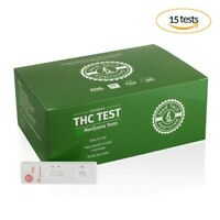 Drug Test MARIJUANA (15 tests), Highly Sensitive and Accurate, Med Tech Approved