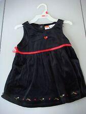 NWT Toddler Girl Black & Red Velour Jumper Size 2T
