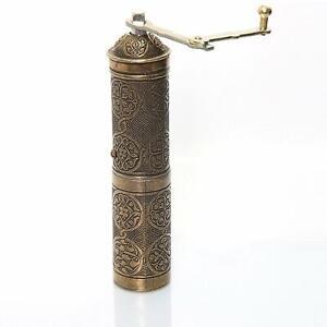 Turkish Handmade Copper Coffee Salt Pepper Spice Grinder Mill  22 cm