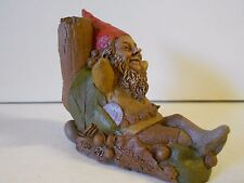 "Nos Vtg Tom Clark Gnome ""Saturday"" '83, Ed #28, 4 3/4 x 5 1/2 x 2 1/2 Unused!"