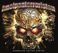 KNEIPENTERRORISTEN -  SCHNELLER LAUTER HÄRTER DIGI CD + BONUS TRACK + BONUS CD