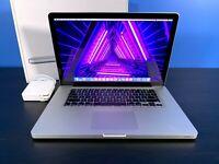 MacBook Pro 15 inch Pre-Retina Apple Laptop | 2.5GHZ | 500GB | Warranty