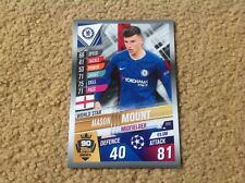 Match Attax 2019/2020 Mason Mount base set card Mint & Rare FREE P&P Chelsea FC
