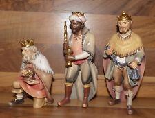 Krippenfiguren Hirten Krippe - Heilige Könige 15cm - Holz geschnitzt - Neu