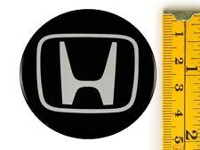 """HONDA *4 x NEW* Emblems 50mm (2"""") WHEEL CENTER CAP STICKERS 3D DECALS"""