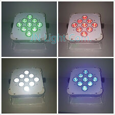 10pcs/lot 9*12W RGBW battery wireless LED Par Light+flycase+1pc Transceiver