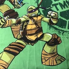 Fabric Shower Curtain 72 x 72 Tmnt Teenage Mutant Ninja Turtles Bathroom Decor