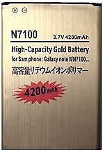 Battery for Samsung Galaxy Note 2 N7100 N7105 LTE Gold Replacement