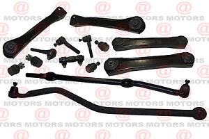 For Jeep Cherokee Comanche Steering Tie Rod Ends Ball Joints Sleeve Track Bar