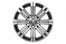 """¡ nuevo! Peugeot 2008 16 """"Cetus Rueda de la aleación (x1) - Original Peugeot actualización Rueda!"""