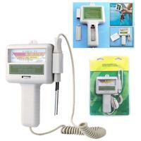 Medidor de pH / pH y medidor de cloro / probador para piscinas / agua / spa LCD